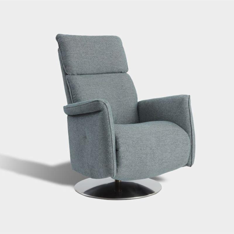 Butaca relax respaldo reclinable en tela