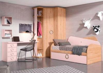 Cama nido original para dormitorio juvenil