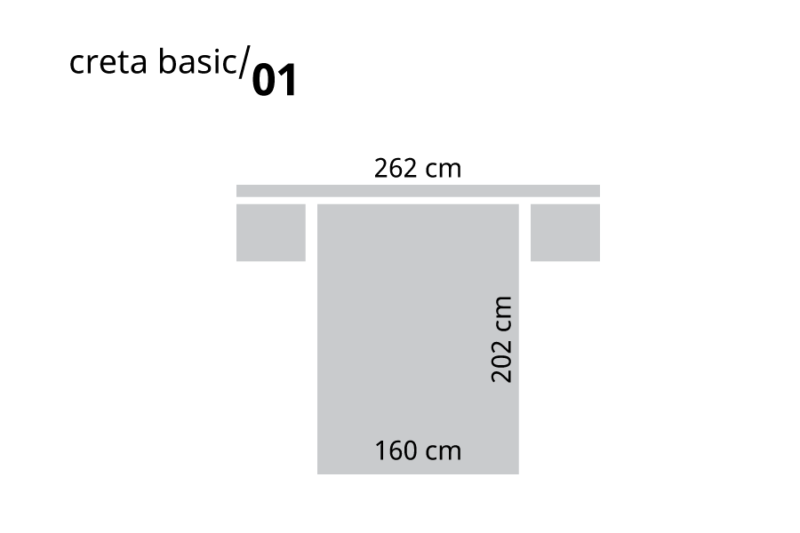 Dormitorio de matrimonio de madera medidas de cama, cabecero y mesitas