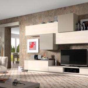 Muebles de salón de diseño sistema modular