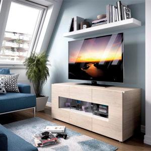 Muebles para salones pequeños modulo tv