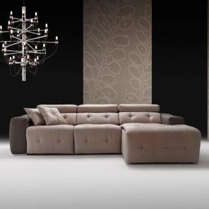 Sofá modular con chaise longue CLAR