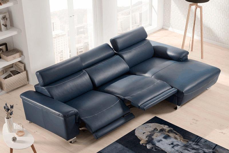 Sofá eléctrico relax con cabezales reclinables Torresol Bemus